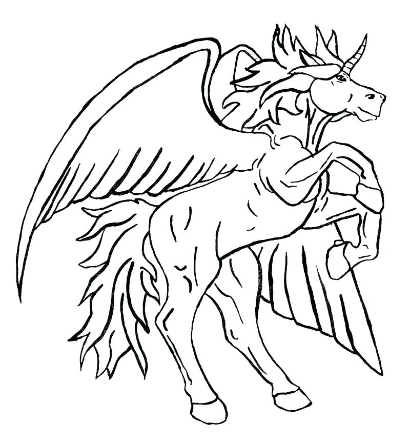 800x864 Pegasus Coloring Page Unicorn Coloring Pages Tattoo Page