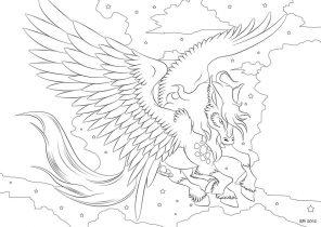 296x210 Pegasus Coloring Pages