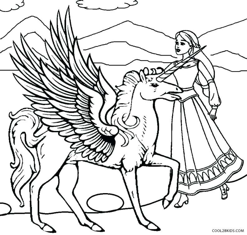 792x752 Pegasus Coloring Pages Barbie Coloring Pages Pegasus Colouring