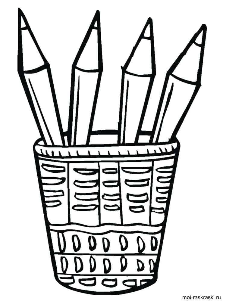 750x1000 Pencil Coloring Page Pencil Coloring Pages Pencil Case Coloring