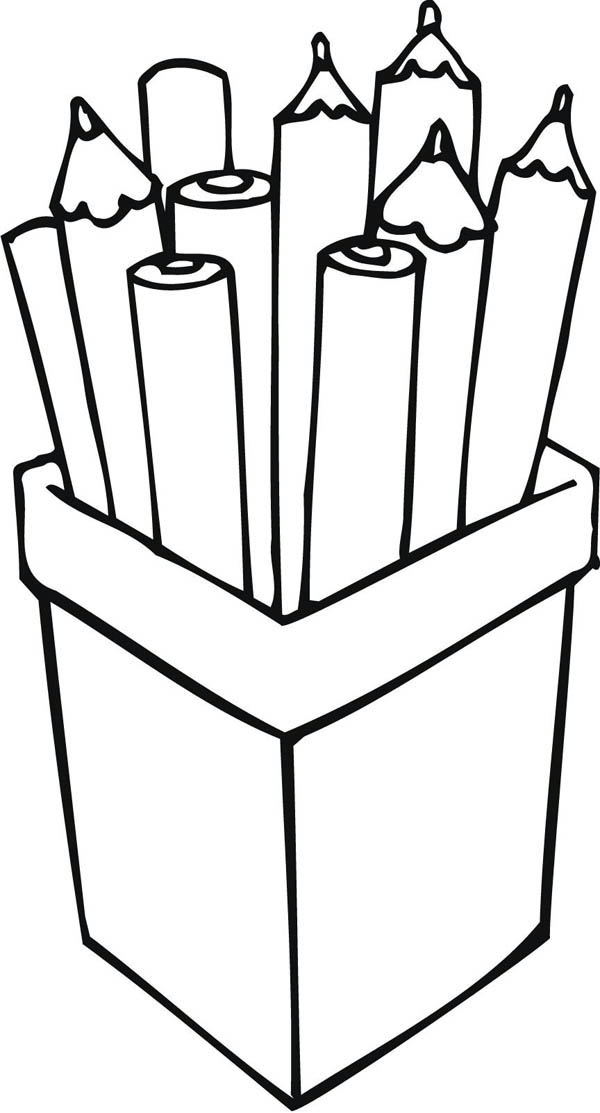 600x1113 Color Pencil Coloring Pages