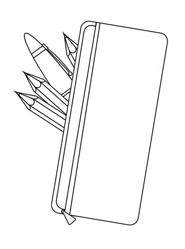 600x804 Pencil Coloring Page Best Of Free Printable Pencil Coloring Pages