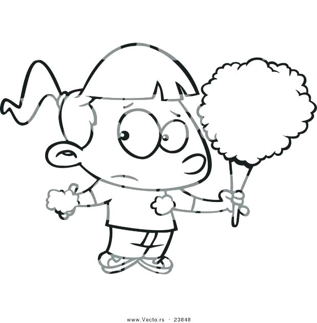 618x630 Cotton Candy Coloring Pages Pencil Coloring Page Coloring Pages