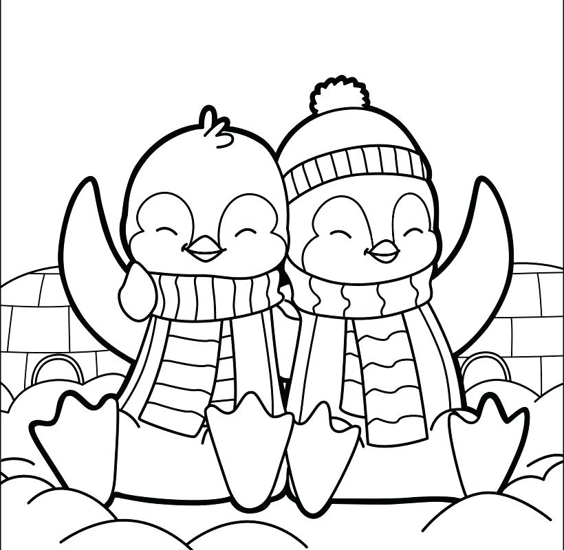 820x800 Coloring Page Penguin Amazing Penguin Coloring Pages Crayola Photo