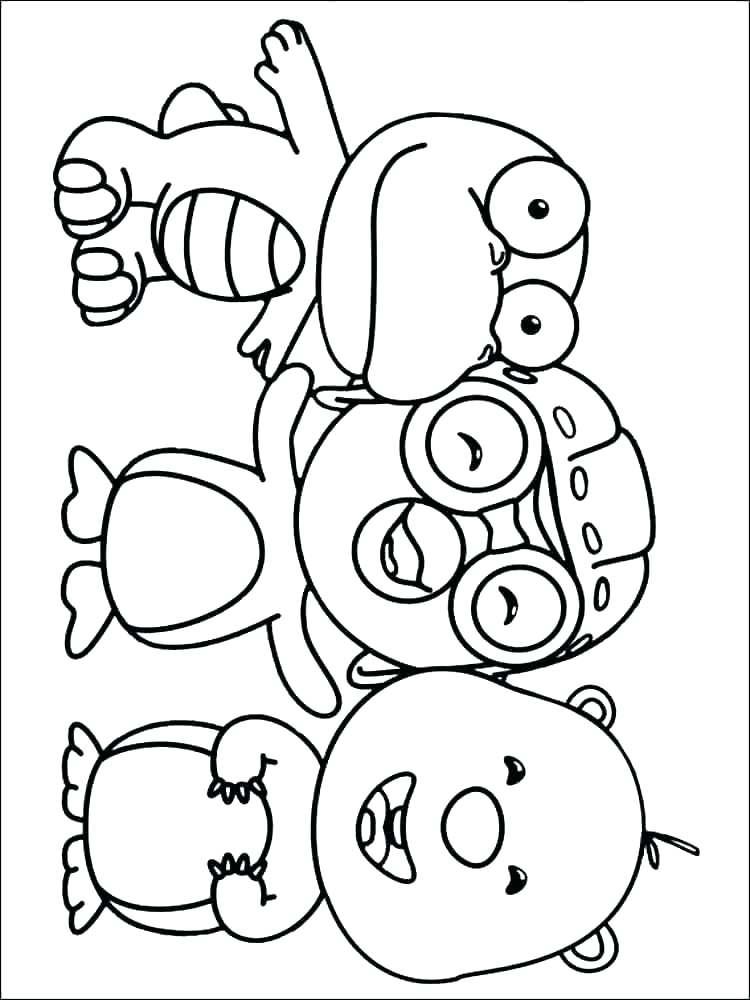 750x1000 Coloring Pages Penguins