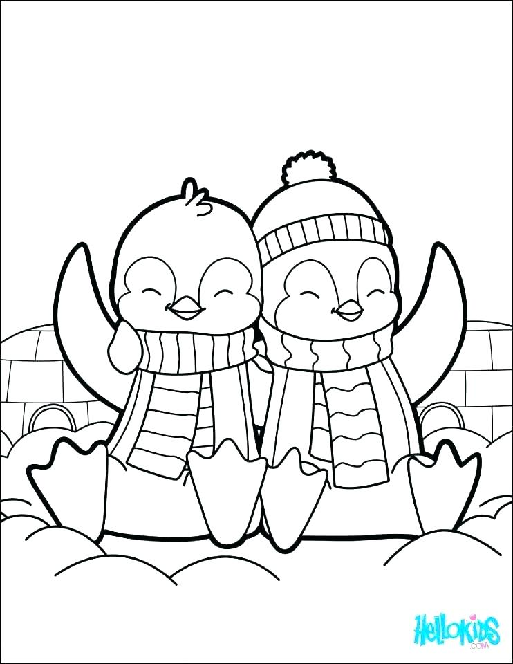 742x960 Coloring Pages Of Penguins Free Penguin Coloring Pages Coloring