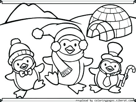 440x330 Puffle Coloring Page For Kids Club Penguin Coloring Sheets Pages