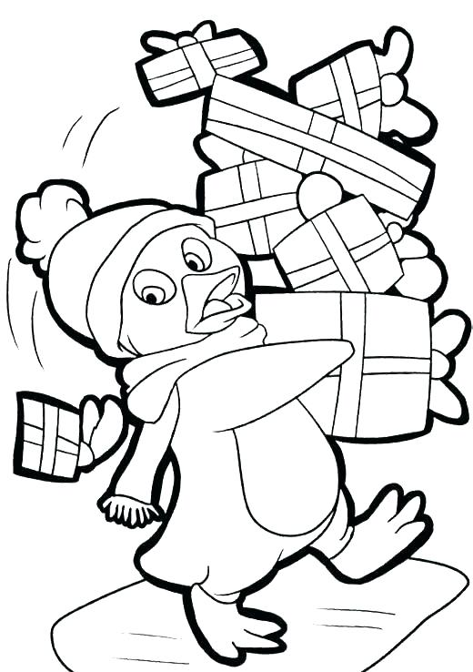 520x738 Coloring Pages Of Penguins Coloring Pages Of Penguins Penguin