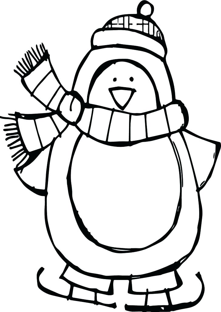 728x1024 Baby Penguin Coloring Pages Penguin Color