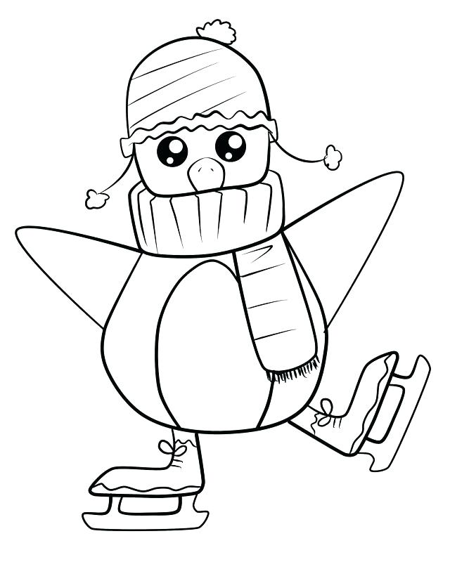 640x800 Penguin Coloring Pages Preschool Med Page Free Coloring Pages