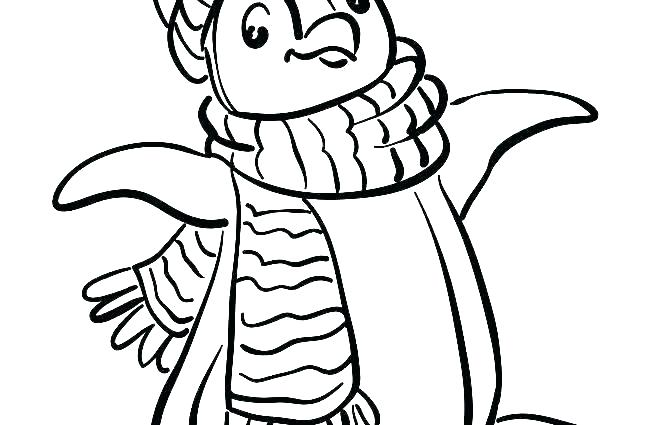 650x425 Printable Penguin Coloring Pages For Kids Penguin Coloring Pages