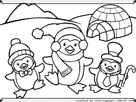 440x330 Club Penguin Coloring Pages Coloring Page Penguin Penguin Coloring