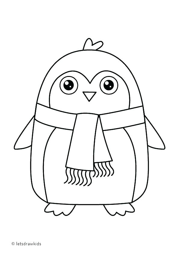 595x842 Penguin Coloring Pages Cute Penguin Coloring Pages Pictures