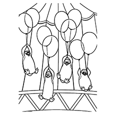 Penguins Of Madagascar Coloring Pages