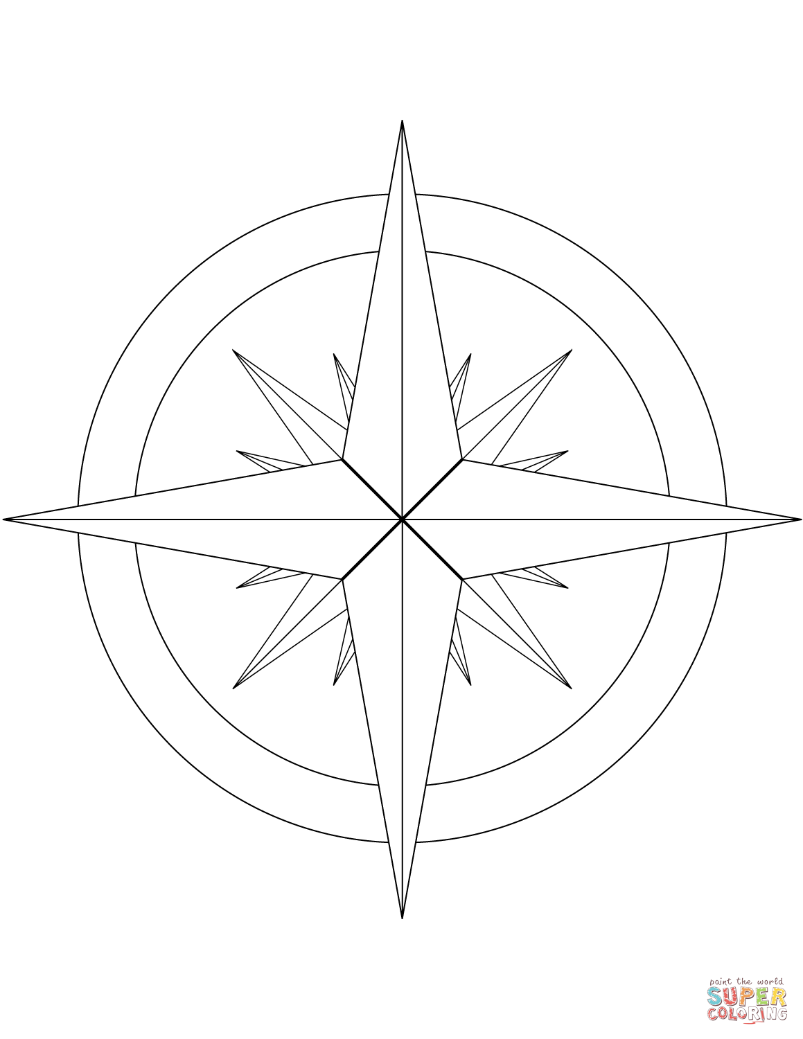 Pennsylvania Dutch Hex Signs Coloring Pages