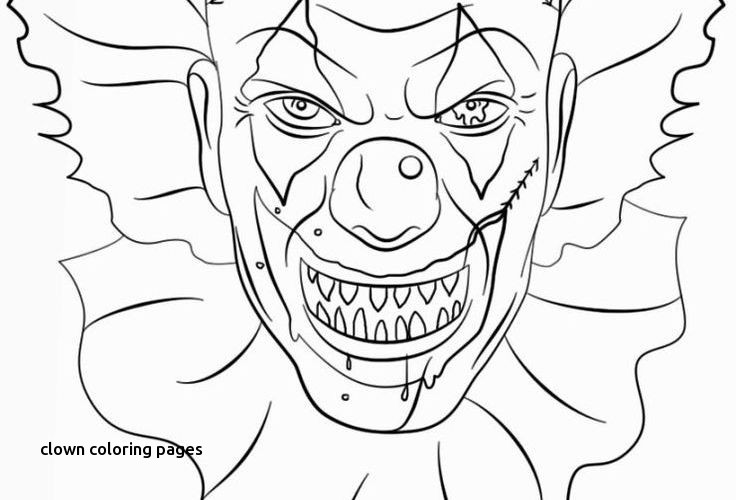 Pennywise The Clown Coloring Pages at GetDrawings | Free ...