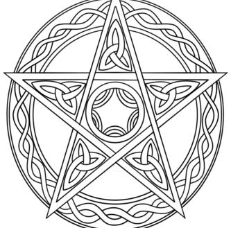 333x329 Wiccan Coloring Pages Wiccan Coloring Pages