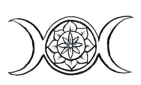 464x280 Wiccan Coloring Pages Simple Coloring Pages Fee Best Images