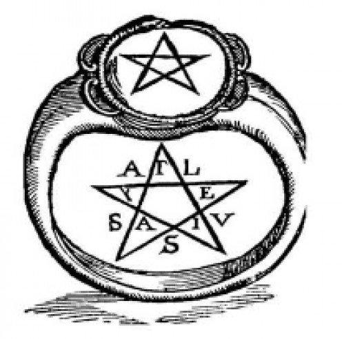 496x491 Drawn Zodiac Pentacle