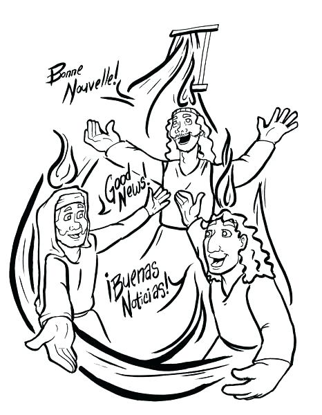 466x600 Pentecost Coloring Pages Coloring Page Free Coloring Pages