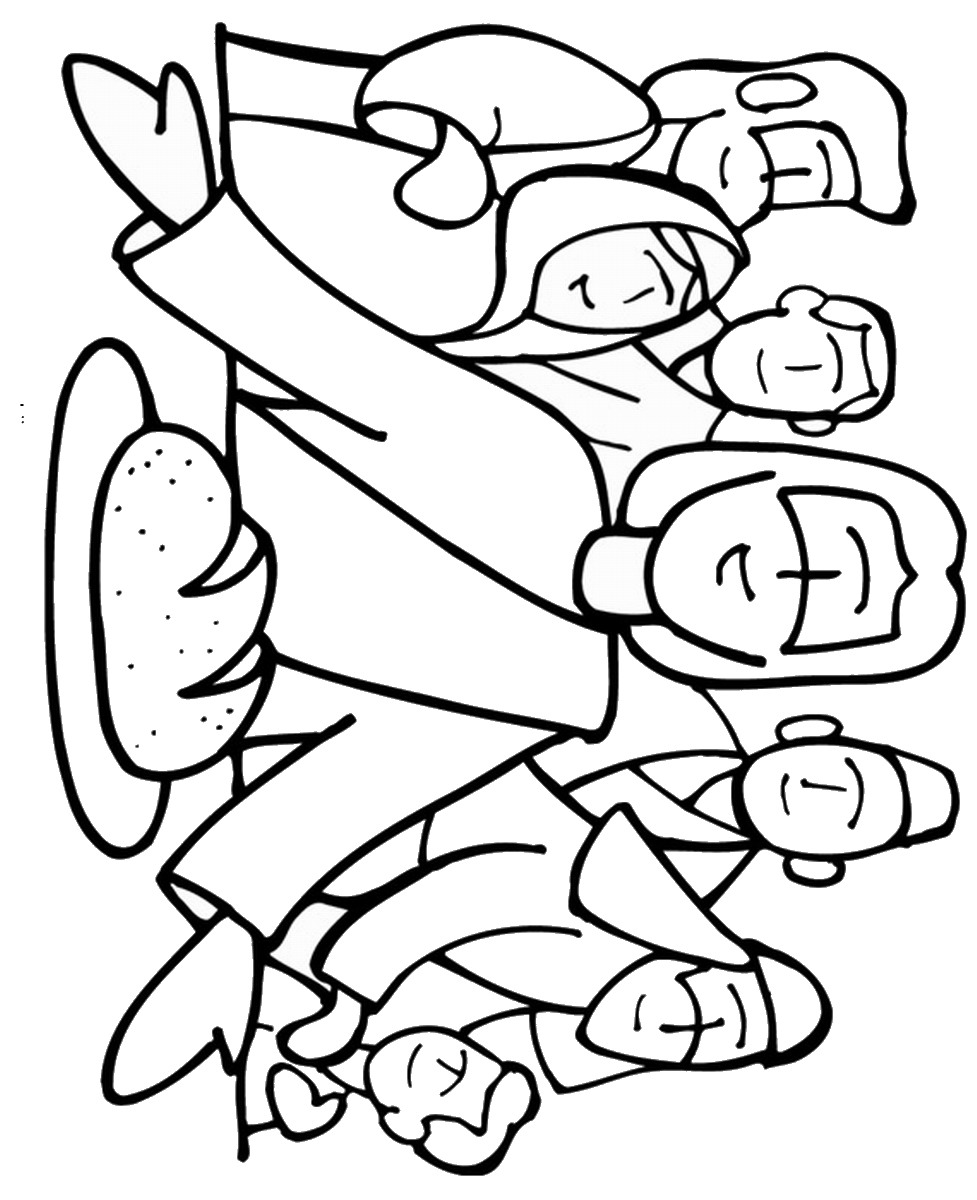 977x1200 Pentecost Coloring Pages