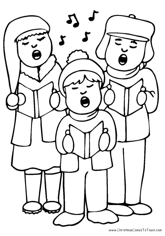 630x900 Nice Design People Coloring Pages Three Standing Free For Kids