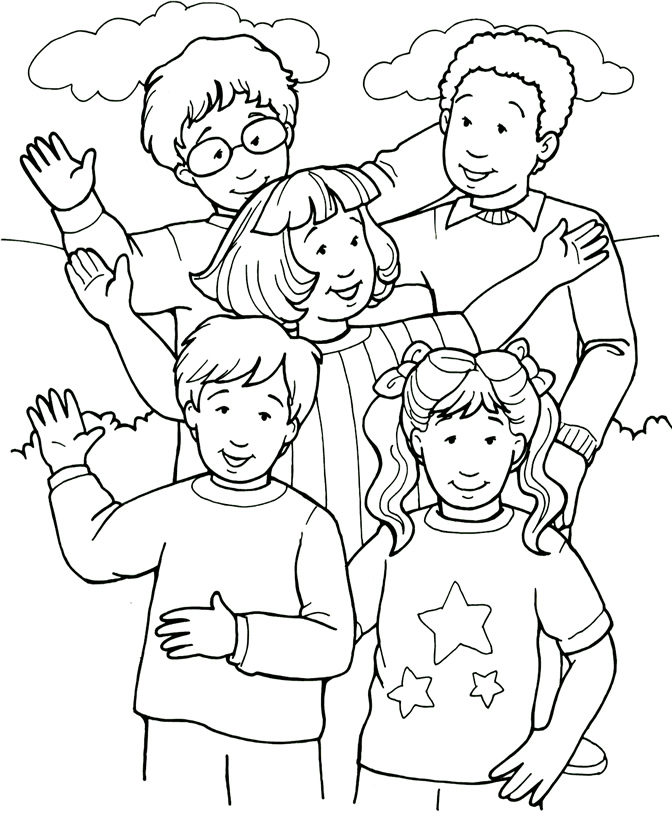 672x813 Top People Coloring Pages