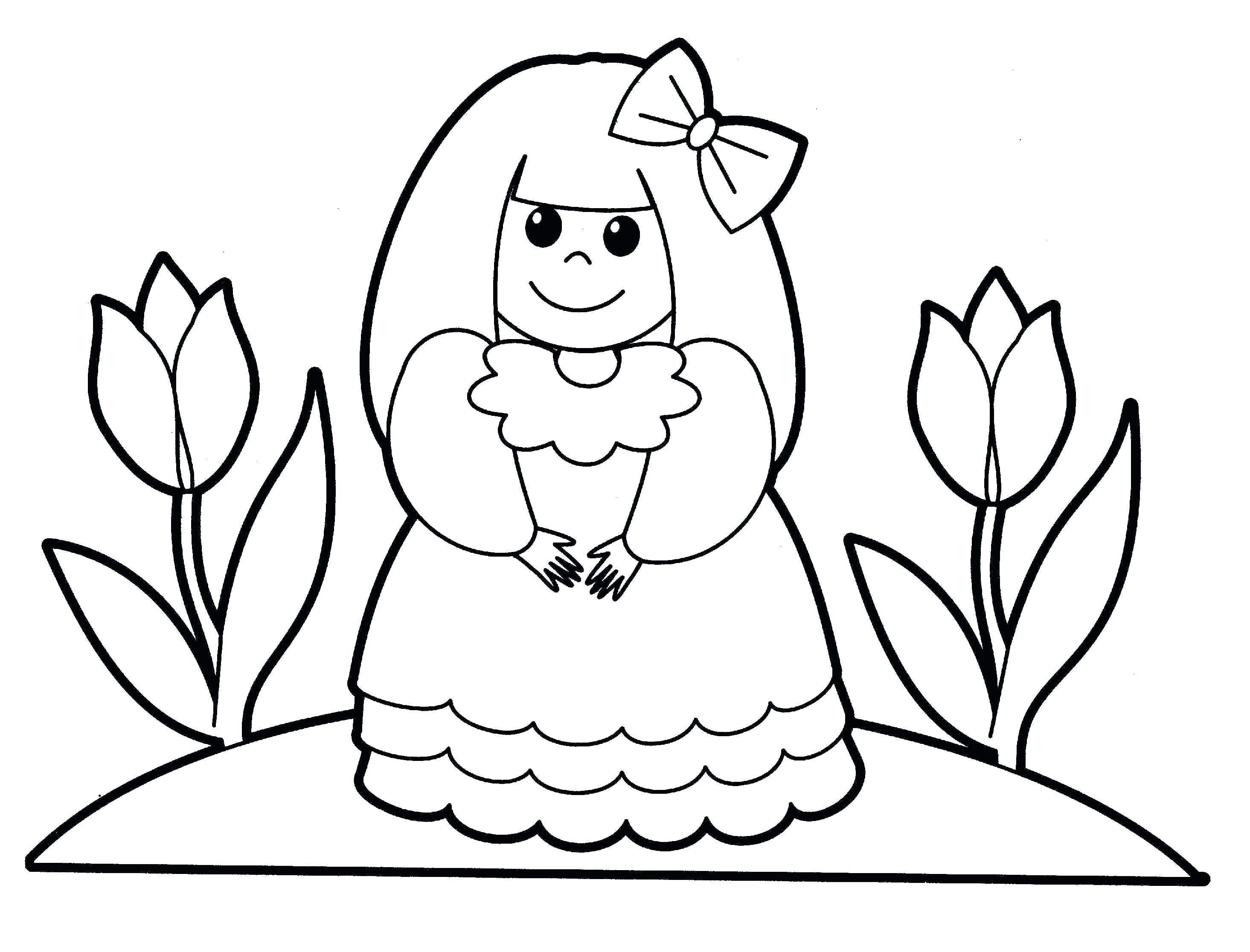 2930x2232 Amazing Letter Person Printable Coloring Page Of The People Style