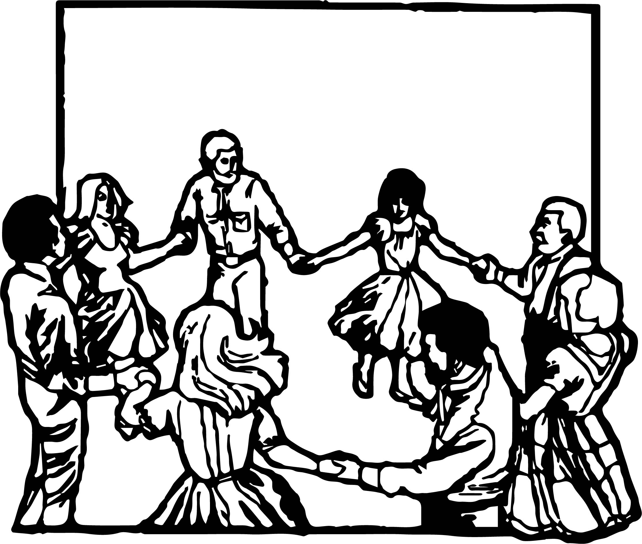 2226x1887 Coloring Pages Of People Dancing