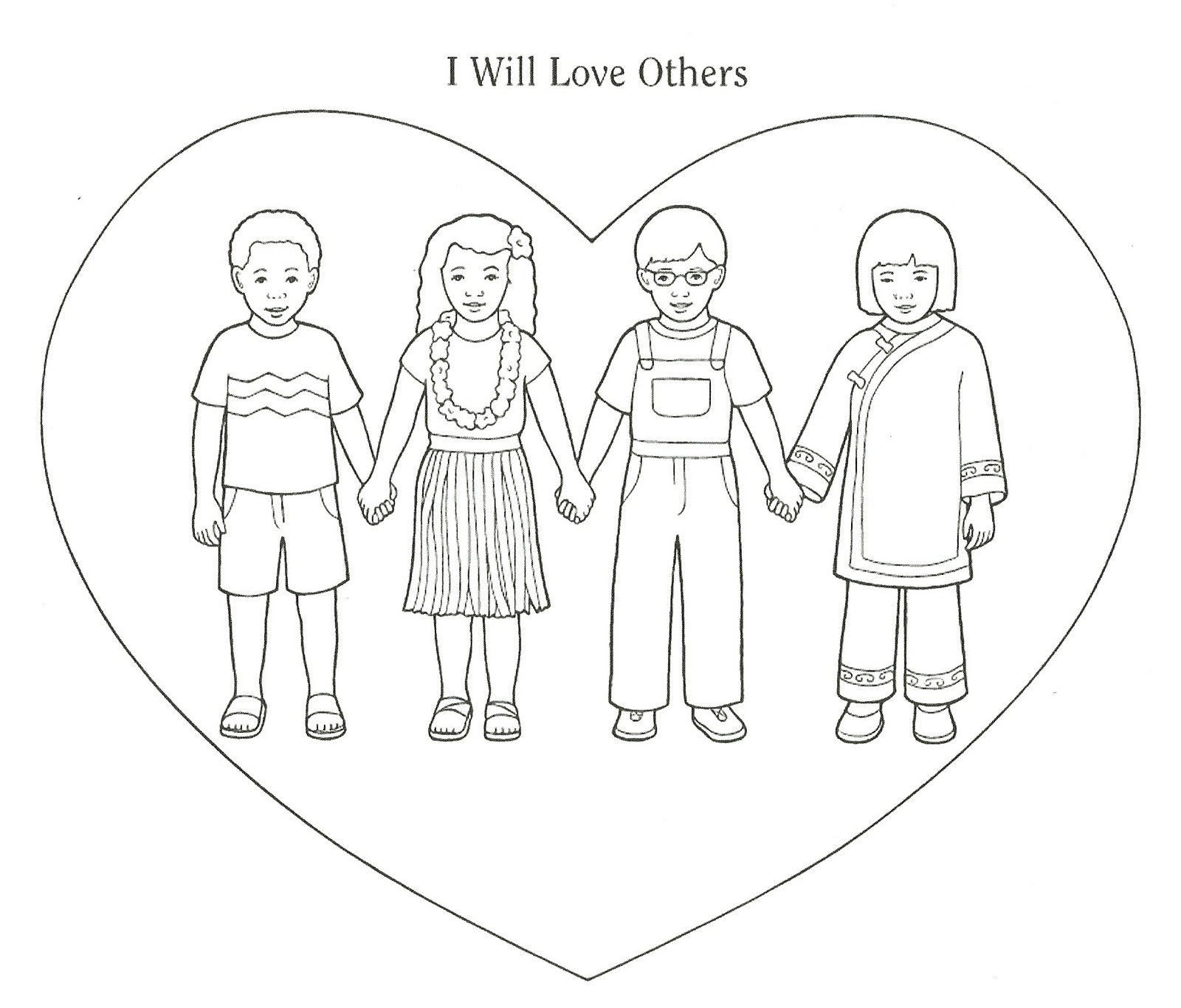 1600x1366 Love Coloring Pages