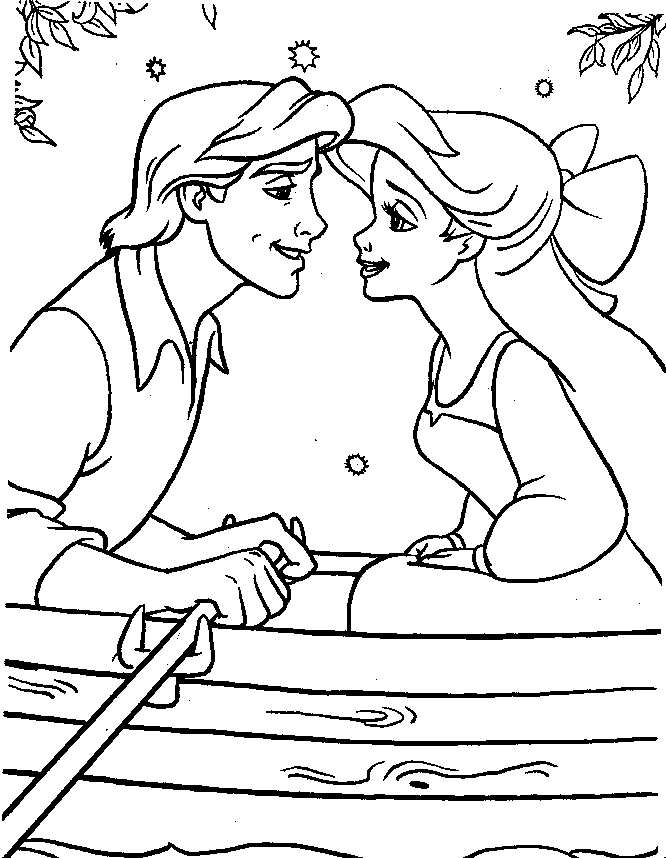 666x858 Coloring Pages For Girls Disney People Kissing On Tv