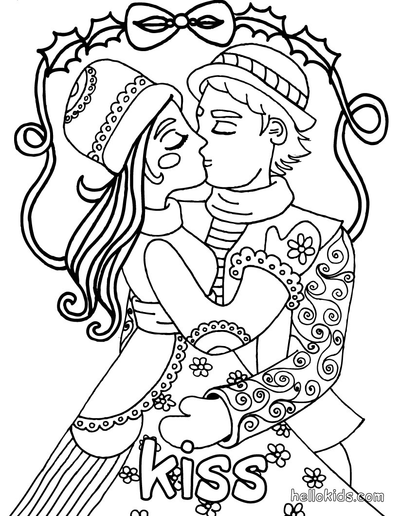 820x1060 Kiss Coloring Pages, Free Online Games, Reading Learning