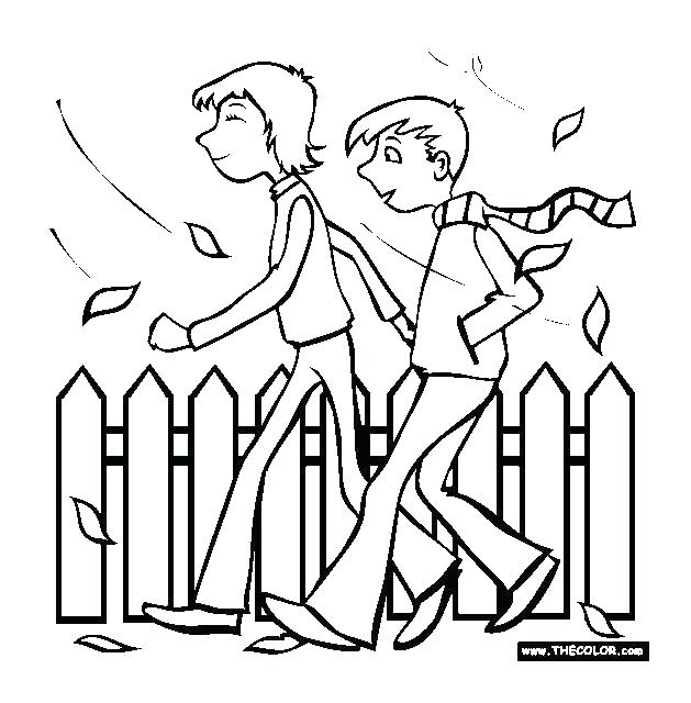 629x640 Letter People Coloring Pages People Coloring Page Little People