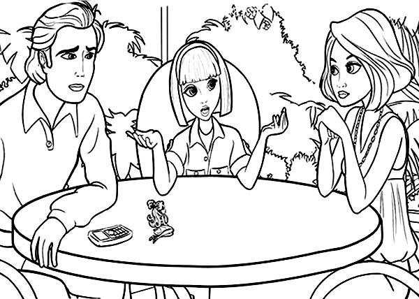 600x428 Vanessa Talking To Her Parents In Barbie Thumbelina Coloring Pages