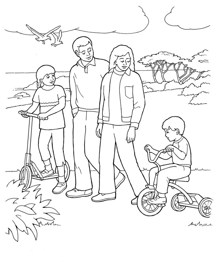 736x910 Lds Coloring Pages Family