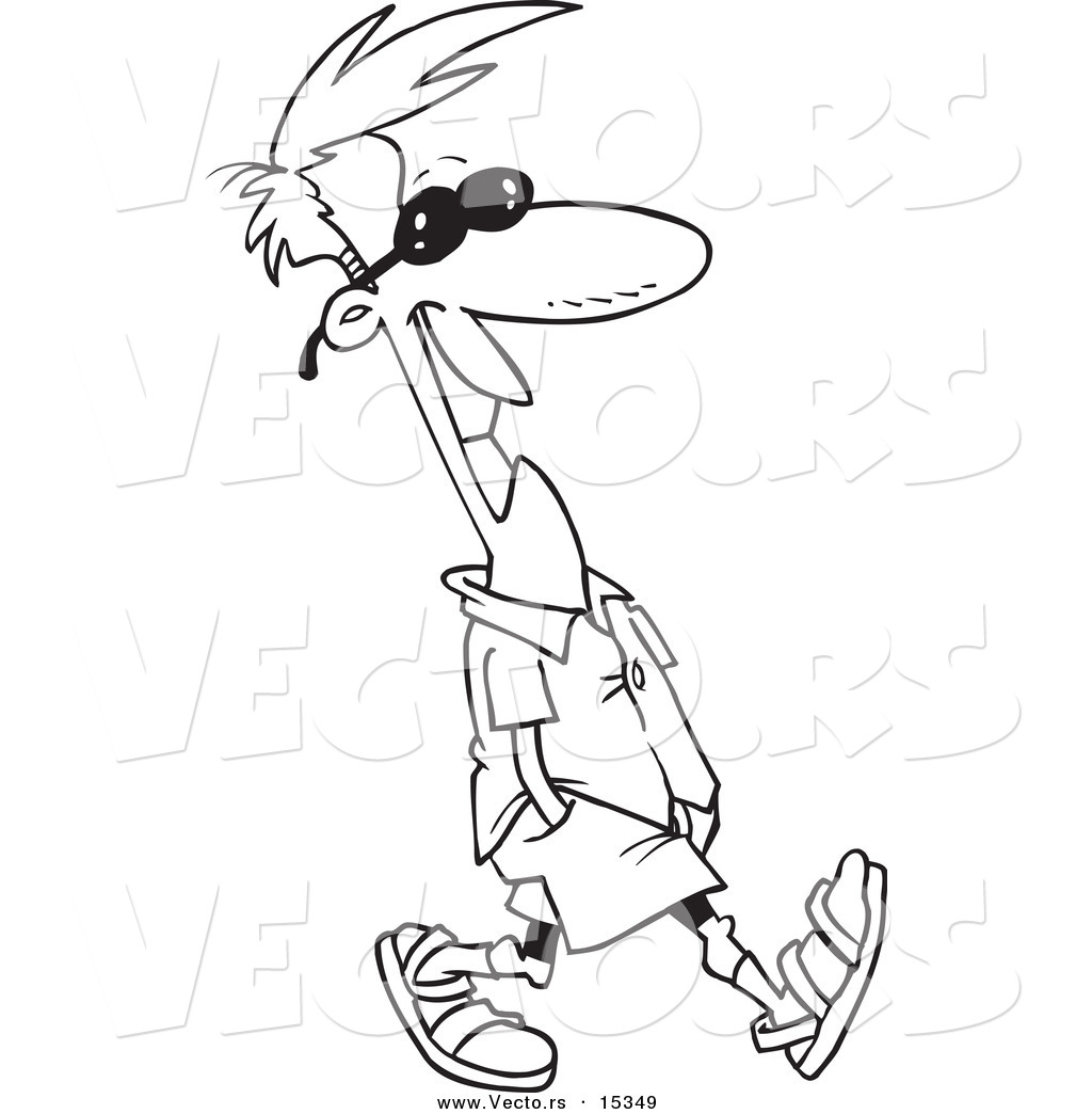 1024x1044 People Walking Coloring Pages