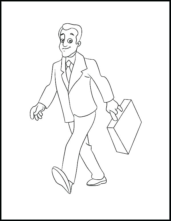 600x775 Person Coloring Page Person Coloring Page Elegant Person Coloring