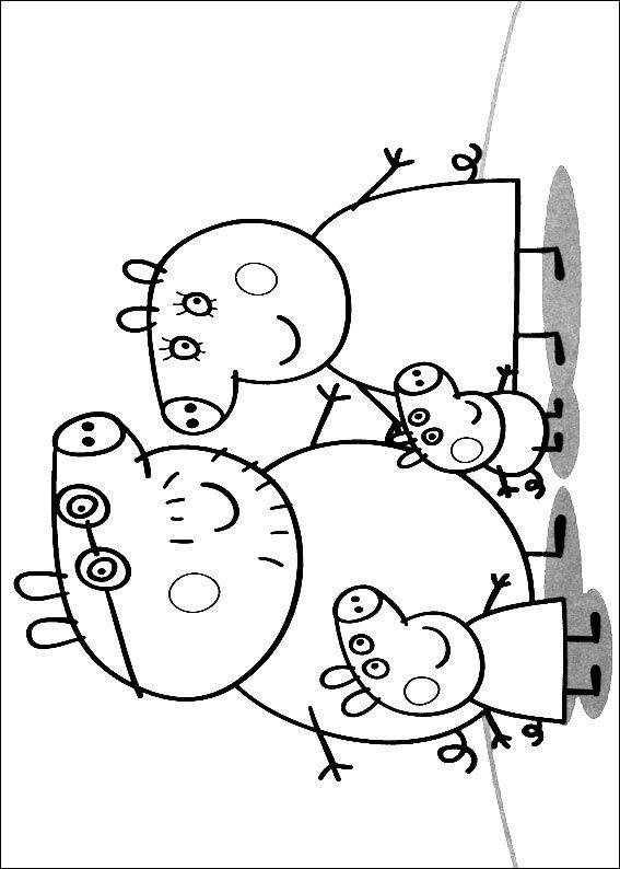 567x794 Kids N Coloring Pages Of Peppa Pig