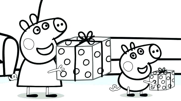 700x394 Peppa Pig Coloring Book Also Flower Coloring Pages Pig Books Peppa