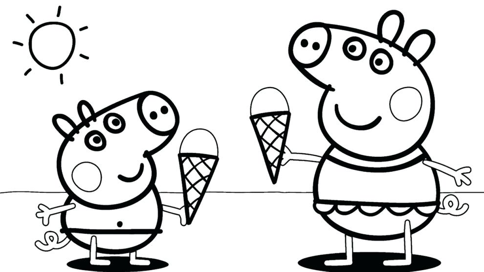 990x557 Peppa Pig Coloring Pages Nick Jr Peppa Coloring Pages Nick Jr
