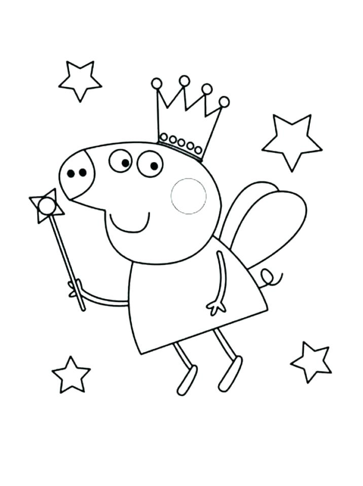 716x960 Peppa Pig Color Pages Coloring Pages Pig Pig Coloring Pages