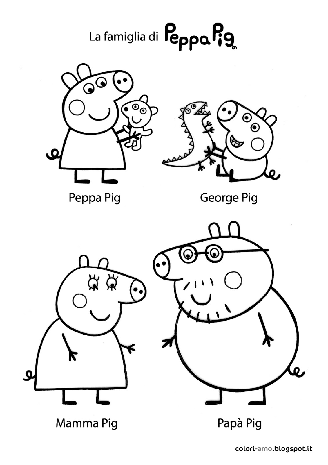 1131x1600 Awesome Best Peppa Pig And Friends Coloring Pages Free