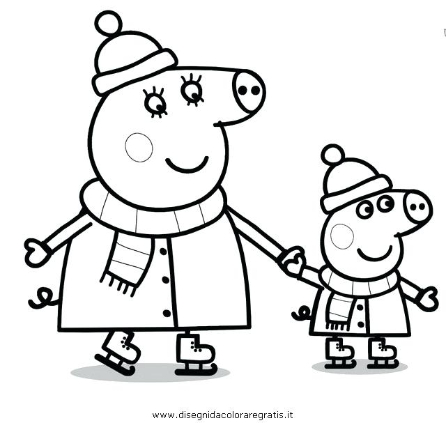 640x607 Pig Coloring Page Pig Coloring Pages Pages Pig Colouring Pages