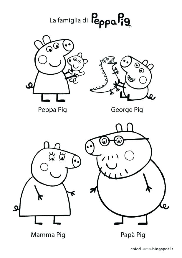 618x874 Three Little Pigs Pig Pig And Friends Colouring Pages Three Little