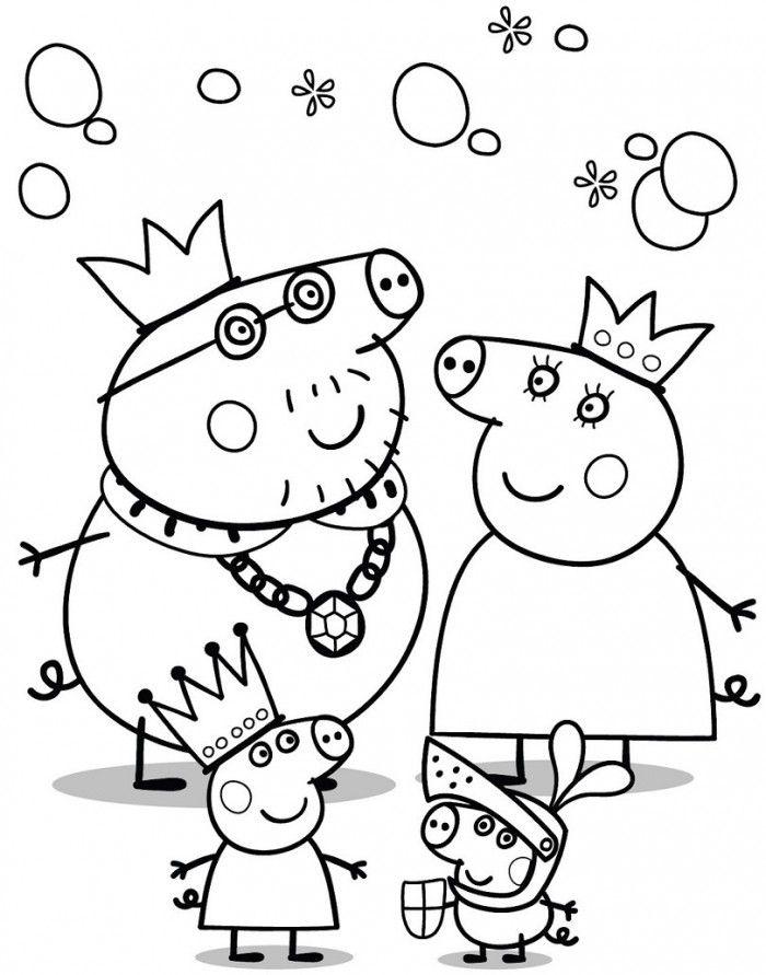700x891 Peppa Pig Coloring Pages Peppa Pig Peppa Pig