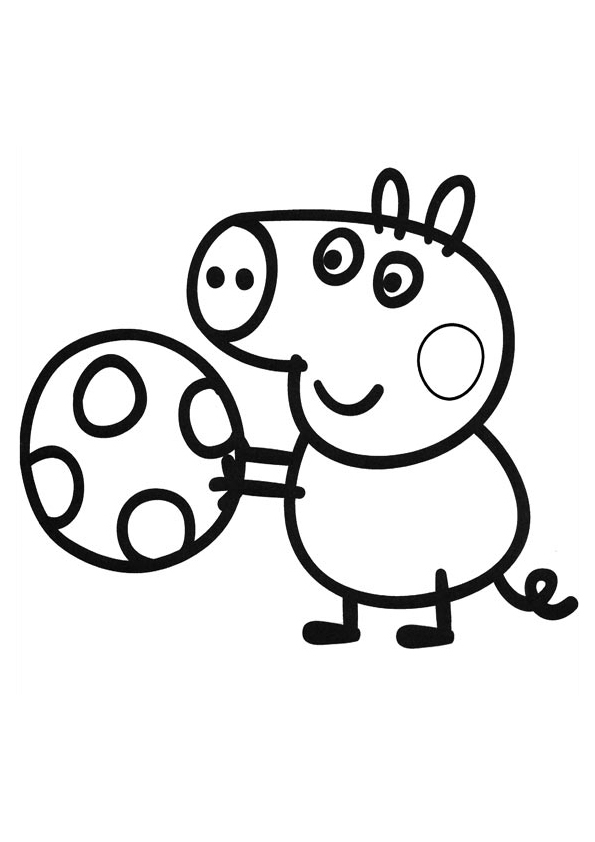 595x842 Daddy Peppa Pig And Friends Coloring Pages