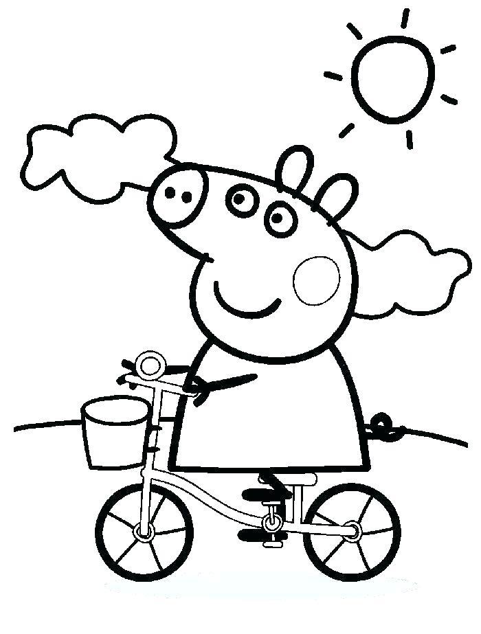 700x923 Peppa Pig Coloring Game Pig Birthday Coloring Pages Peppa Pig