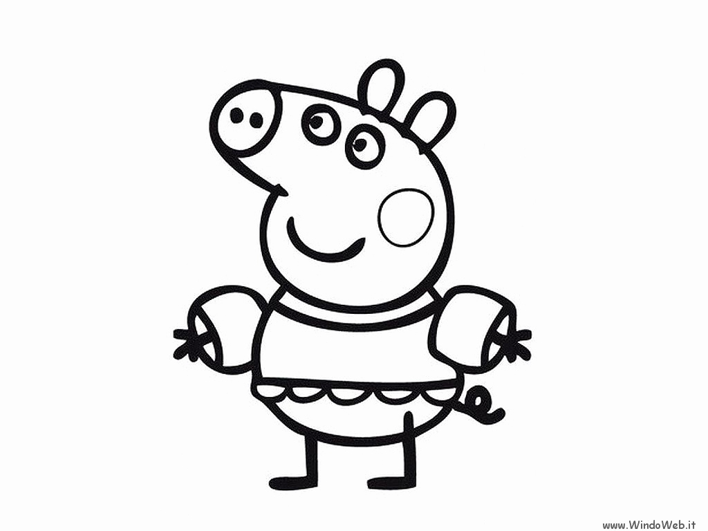 1024x768 Peppa Pig Coloring Pages New Peppa Pig Birthday Coloring Pages