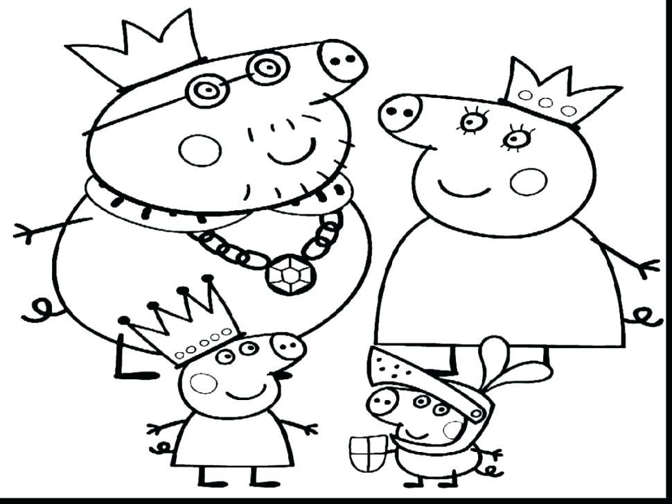 970x727 Peppa Pig Coloring Sheet Coloring Book Pig Pig Coloring Book App