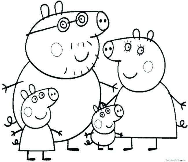 650x560 Pig Coloring Page Pig Coloring Page Pig Coloring Pages To Print